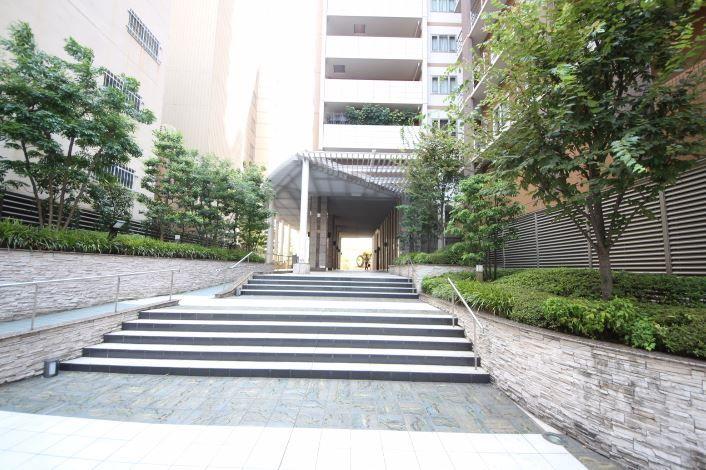 アップルタワー大阪谷町外観エントランス