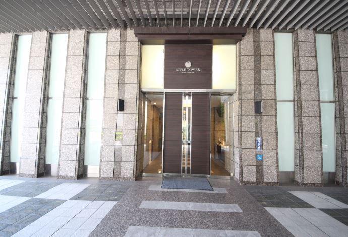 アップルタワー大阪谷町玄関