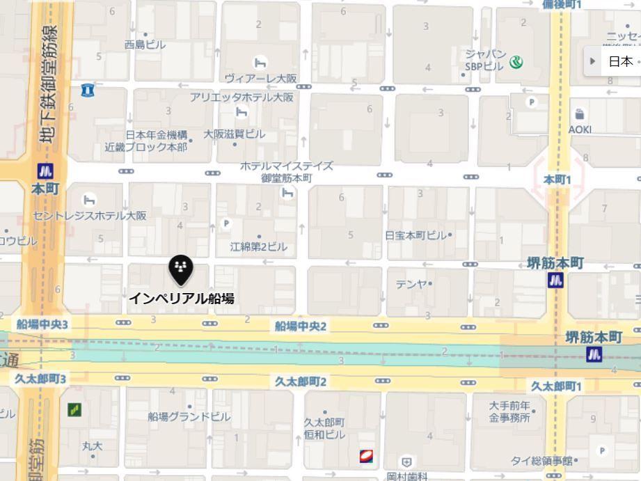インペリアル船場地図