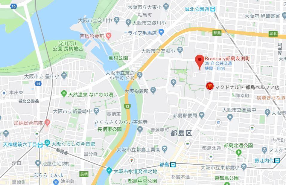ブランズシティ都島友渕町
