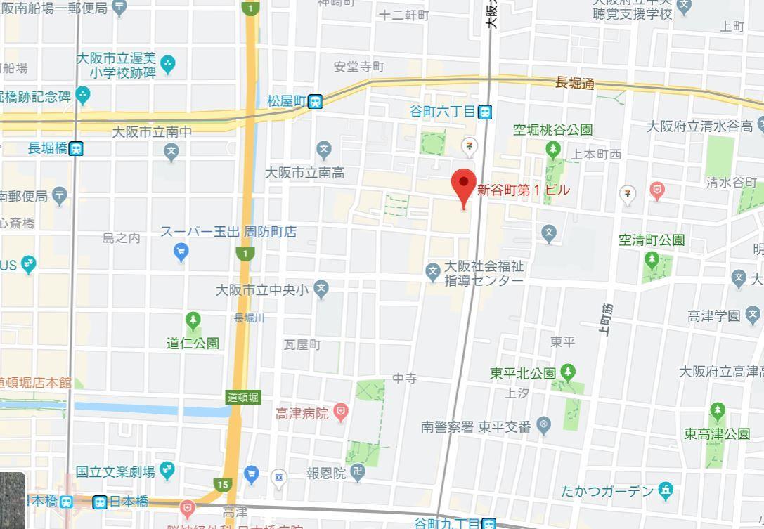 新谷町第一ビル地図