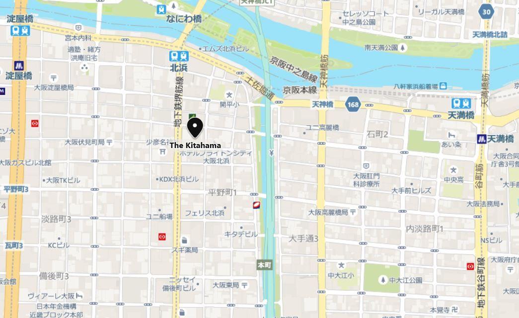 thekitahama地図